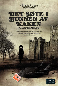 The Sweetness at the Bottom of the Pie - Norwegian paperback cover